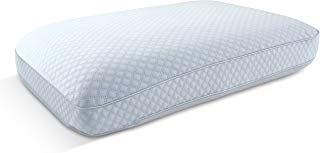ARCTIC Sleep by Pure Rest MFP-071 Big & Soft Cooling Memory Foam Sellp Pillow-Ventilated Air Flow, Gel-Infused, Large Size Ideal for Back & Side Sleepers