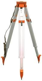 CST/berger 60-ALQRI20-O Heavy Duty Contractor Aluminum Tripod, Orange Aluminum Heavy Duty Level