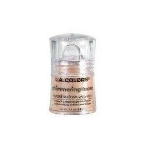 L.a. Colors Loose Eyeshadow, Long Wearing Shimmering Eye Color, Honey Suckle Make-up by Kodiake - Loose Base Honey