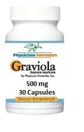 Graviola 500 mg, 30 capsules, l'humeur positive et relaxation - Approuvé par le Dr Ray sahélienne, MD