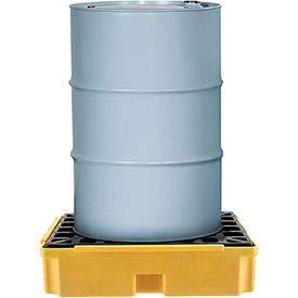 Global Industrial 1 Drum Spill Containment Modular Platform - 1 Each