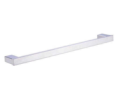 TRUSTMI JP8003PL Bathroom Stainless Steel Towel Bar Holder , Polished Stainless Steel