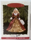 Keepsake Ornament, Holiday Barbie, Collector's Series, Handcrafted, Dated 1996, Sculpted By Patricia Andrews, Fourth in the...