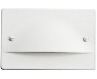Kichler 12662WH Step and Hall 120V LED Step Light Non-Dimmable, White
