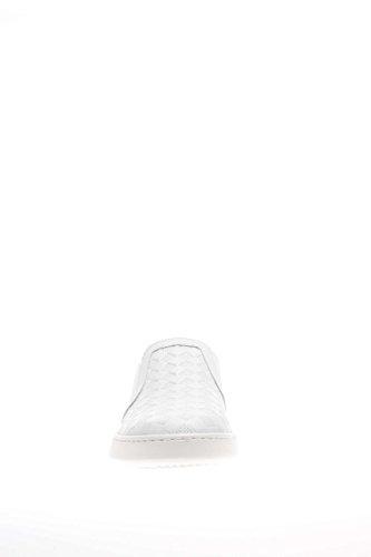 P615270d Slip Cassé sneaker 707 Femme Nero Chaussures Blanc On Giardini Cuir SIqwRHFfF
