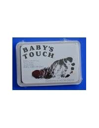 Baby's Touch Baby Safe Reusable Hand & Foot Print Ink Pads (Black) BOBEBE Online Baby Store From New York to Miami and Los Angeles