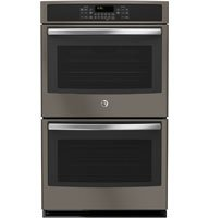"GE JT5500EJES 30"" Star-K Certified Built-In Double Wall Oven With Convection in Slate"