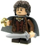Lego Lord of The Rings Minifigure - Frodo with Sword Sting and Ring
