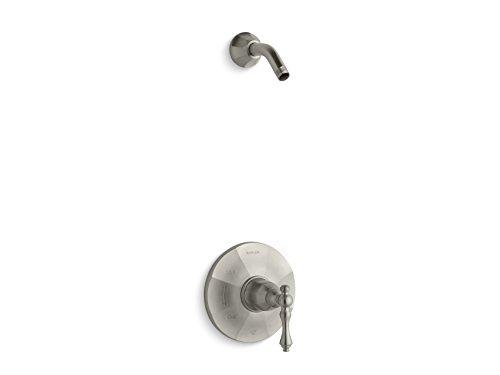 Kohler TLS13493-4-BN K-TLS13493-4-BN KELSTON Rite-Temp Shower Valve Trim with Lever Handle, Less showerhead Vibrant Brushed Nickel