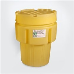 UltraTech 0582 Polyethylene Ultra-Overpack Plus, 65 Gallon Capacity, 5 Year Warranty, Yellow