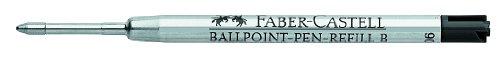 Faber-Castell Ballpoint Refill for Medium Nib, Black (FC148740)