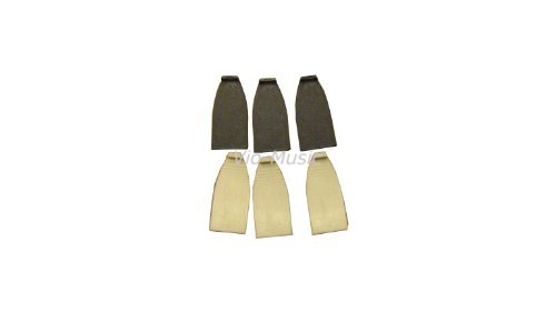 Violin, Viola Bow Tips, Plastic, 3 Sets