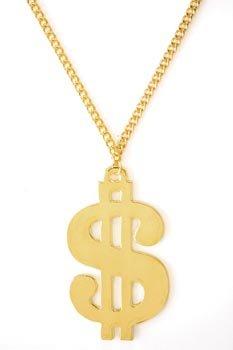 Goldkette gangster  German Trendseller® – Dollar – Kette Gold ┃ 90 cm ┃ Metall ...
