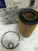 - Mercedes-Benz 651 180 01 09, Engine Oil Filter