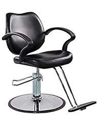 FlagBeauty Black Hydraulic Barber Styling Chair Hair Beauty Salon Equipment by Flagbeauty