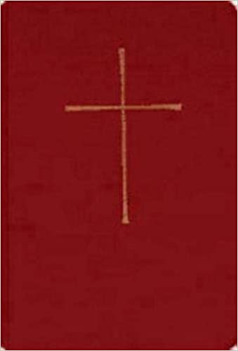 Book Of Common Prayer Chapel Edition Red Hardcover September 1 1979