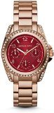 Michael Kors Watches Mini Blair Chronograph Watch (Rose Gold)