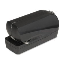 Electric Stapler, Flat Clinch, 20 Sht/ 210 Capacity, BK, Sold as 1 Each