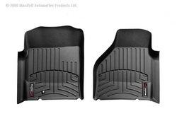 WeatherTech Custom Fit Front FloorLiner for Select Dodge Ram Models (Black) ()