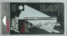 "UPC 015286075802, Coast Cutlery Tt7580cp ""turbo Torch"" Pen Flashlight - Silver"