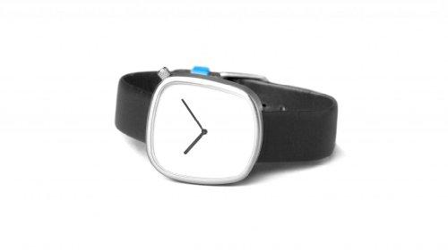 Bulbul Pebble Swiss Made Ronda 762 White Dial Men's Watch 02