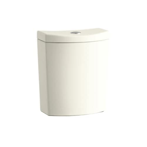 Kohler K-3569 Persuade Curv 1.6/1.0 GPF Toilet Tank Only with Dual-Flush Techn, Biscuit -
