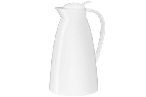 Service Ideas 825010100 Alfi White 1 Liter Eco Carafe