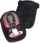 Knee Terrain Pads Gel All (Knee Pads, Gel, All Terrain, Patella Bone Support, Breathable Mesh, One Size)