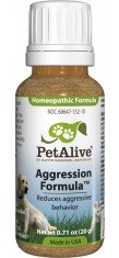 3 Bottles of PetAlive Aggression for Pets Cats and Dogs – 20g in each bottle, My Pet Supplies