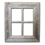 Old Rustic Window Barnwood Frames  Not For Pictures by Rustic Decor