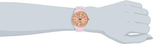 Invicta Women's 14910 Rose Gold-Tone Watch with Pink Ceramic Bracelet