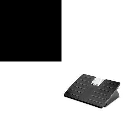 Microban Adjustable Footrest - KITFEL8035001FEL98904 - Value Kit - Fellowes Adjustable Locking Footrest w/Microban (FEL8035001) and Fellowes Optical HD Precision Cordless Gel Mouse (FEL98904)