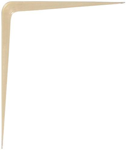 - Hillman #853024, 6 x 8 in. Almond Shelf Bracket (6-PACK)