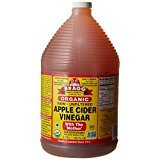 Bragg Organic Raw Apple Cider Vinegar, 128 Ounce - 1 Pack
