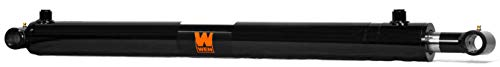 WEN WT1510 Cross Tube Hydraulic Cylinder with 1.5 Bore and 10-inch Stroke, Black