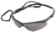 Jackson Safety V30 Nemesis Smoke Mirror Lens Safety Eyewear with Black - Nemesis Sunglasses
