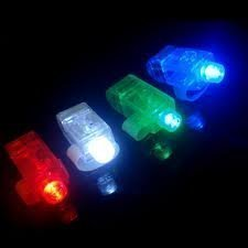LED Finger Lights (40 pcs)]()