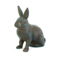 Cast Iron Rabbit Bunny Standing (Cast Iron Bunny)