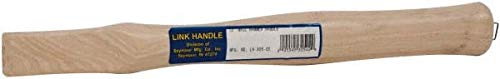 Made in USA - 13'' Long Replacement Handle for Claw Hammers (6 Pack)
