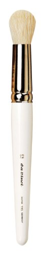 da Vinci Graphic Design Series 110 Dry Wash Brush, Domed Round Hog Bristle with White Lacquer Handle, Size 12 (110-12) Round White Bristle Brush