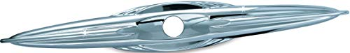 (Kuryakyn 7215 Motorcycle Accessory: Rear Trunk Latch/Key Hole Lock Accent for 2009-19 Harley-Davidson Trike Motorcycles, Chrome)