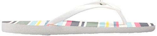 White Multi Roxy Flop Women's Portofino Flip SaHPvqf