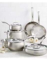 Belgique Hard Anodized 11 Piece Cookware Set (Belgique Stainless Steel 11 Pc Cookware Set)