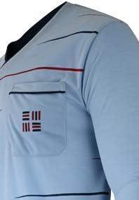 pigiama lungo da uomo 100/% cotone da M a 3XL a righe Soltice