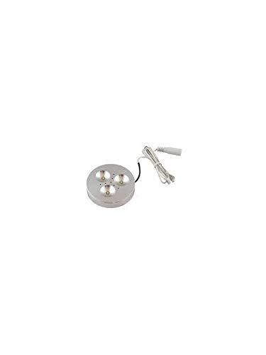 Elemental Led, Inc. Di-0332-Sa 326 Ma 12 Volt 3.92 W 82 CRI 3000 K Brushed Aluminum Led Puck Light (2 Units)