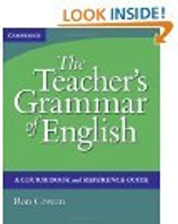 The teachers grammar of english with answers a course book and the teachers grammar of english with answers a course book and reference guide fandeluxe Choice Image