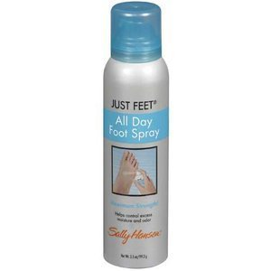 Sally Hansen Just Feet All Day Foot Spray Vanilla Fragrance 3.5 oz