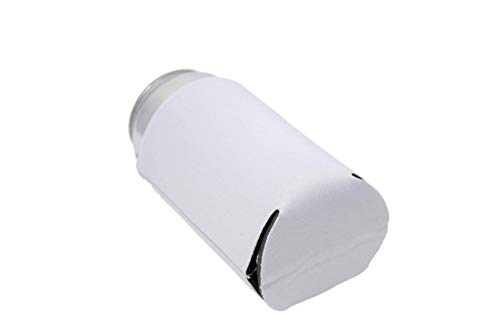 QualityPerfection 25 White Party Drink Blank Beer Can Coolers(12,25,50 Bulk Pack),Soda Coolies Sleeves | Soft, Insulated Coolers | 30 Colors | Perfect for DIY Projects,Holidays,Events by QualityPerfection (Image #3)