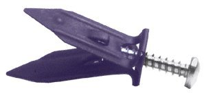 CRL #10 Screw Wall Grabber Anchors - Drywall - Box of 50
