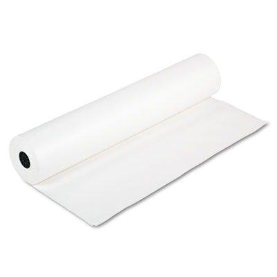 Rainbow Duo-Finish Kraft Roll, 40 lb, 36 inch x 1000 feet, White